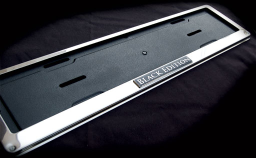MISC - LICENSE PLATE FRAMES - Page 1 - Red Tail Performance